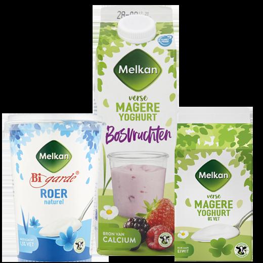 Yoghurt en Skyr